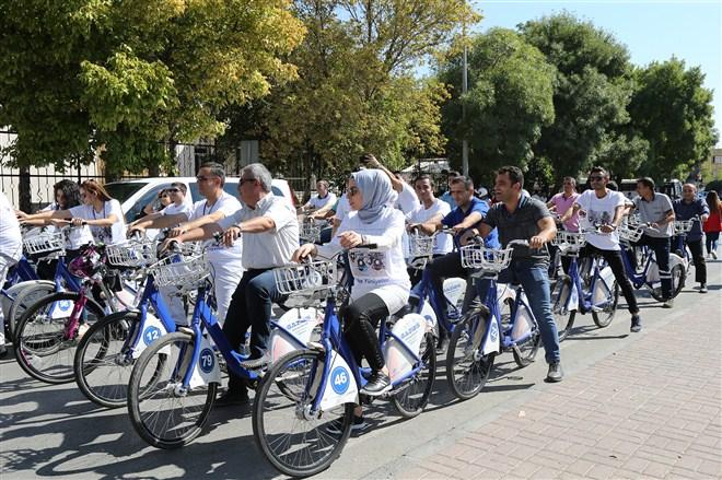 250 Bisiklet Kullanıcısı ter attı!