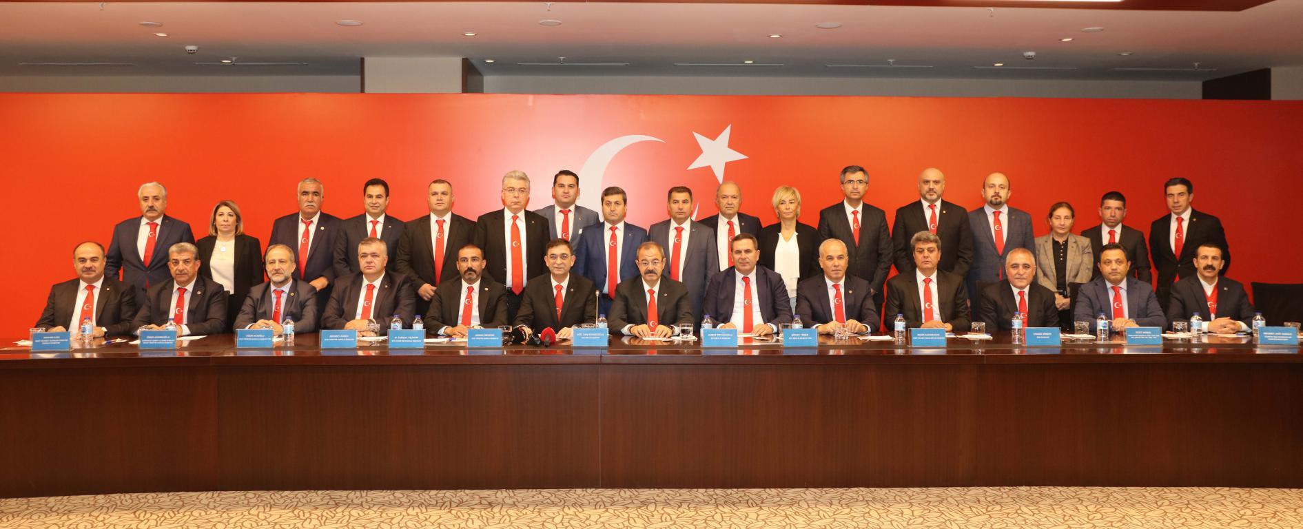 STK'lardan Barış Pınarı Harekatı'na destek için ortak açıklama