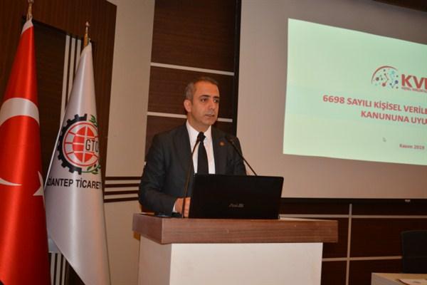 Özseven'den GTO Başkanı Yıldırım'a teşekkür