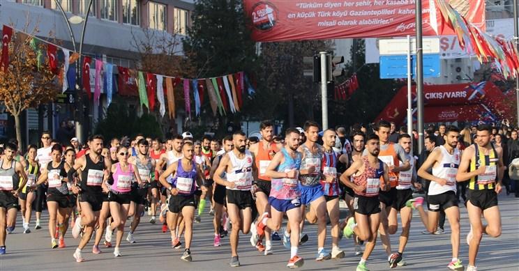 14 Ülke, 56 Şehirden 85 Bin kişi, Gazi Yarı Maratonu'na katıldı