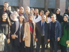 Adalet öğrencileri Adliye Sarayı'nı gezdi