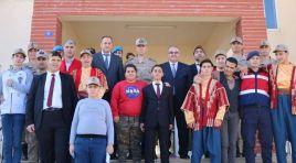 Jandarma'dan Engelsiz çocuklara ziyaret