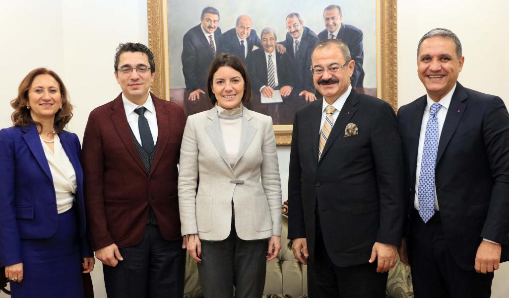 ING BANK Genel Müdürü Pınar Abay'dan SANKO'ya ziyaret