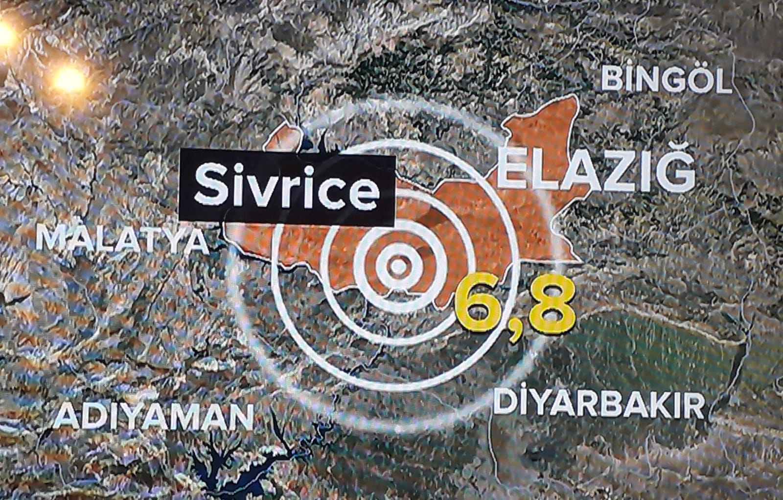 Elazığ'da meydana gelen deprem'de can kaybı