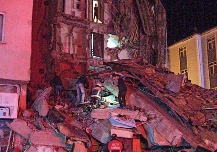 Gaziantep'ten Deprem Bölgesine destek