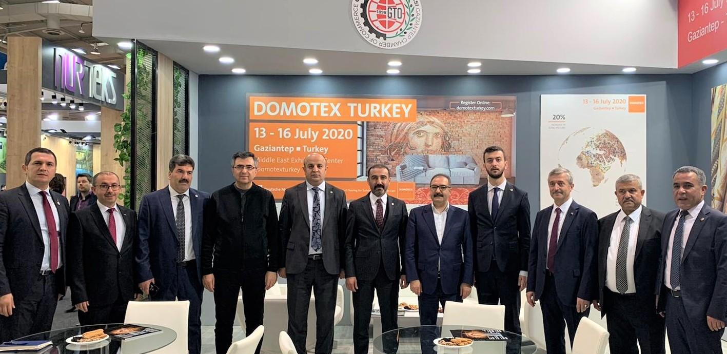 """GTO, """"Domotex Turkey"""" tanıtımı için Hannover'de"""