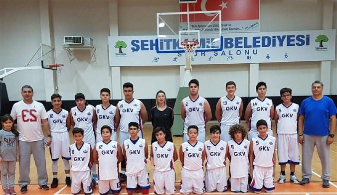 GKV Spor Kulübü U14 Basketbol Şampiyonu