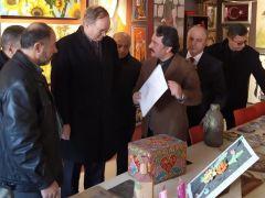 """""""Sınırda Sanat"""" Merkezi Kilis'te açıldı"""