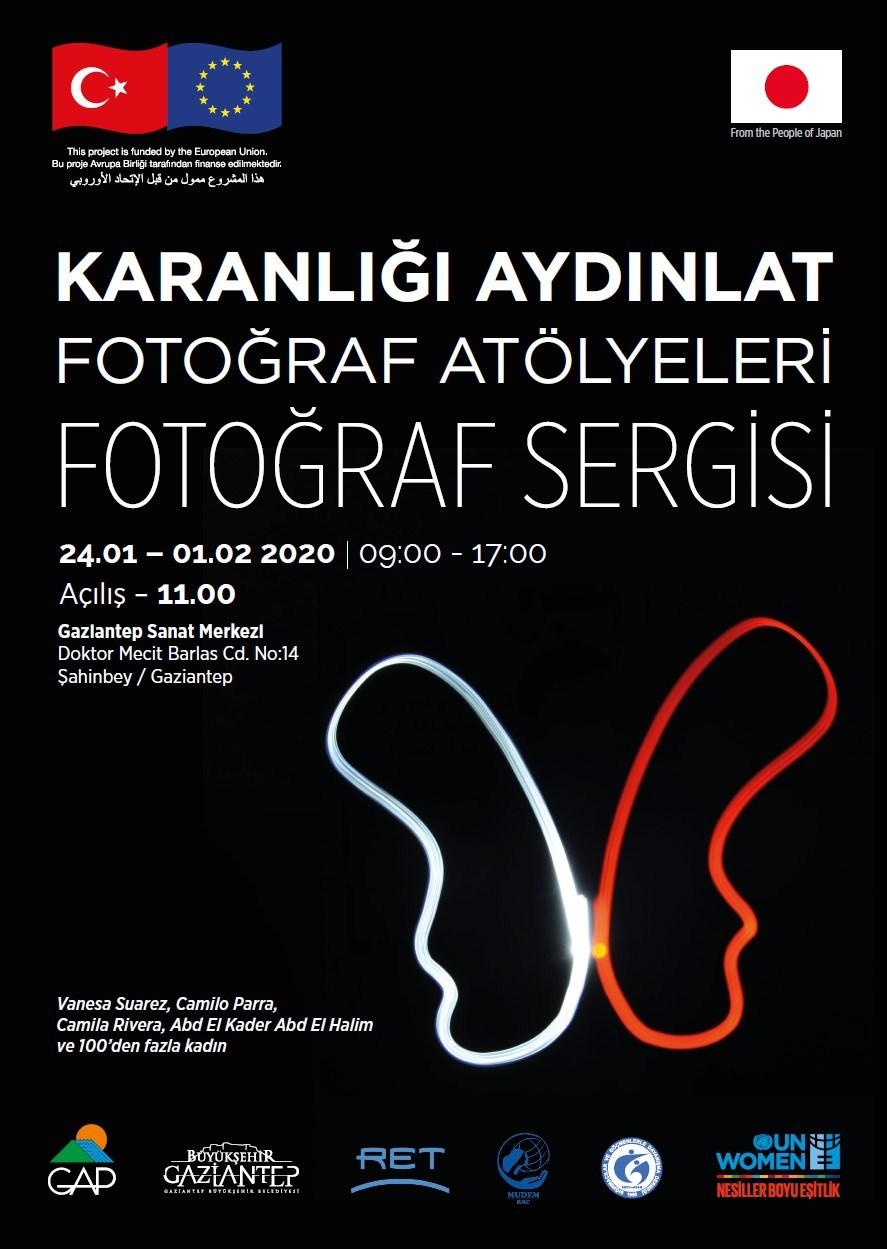 100'den fazla kadının fotoğrafları Gaziantep'te sergilenecek