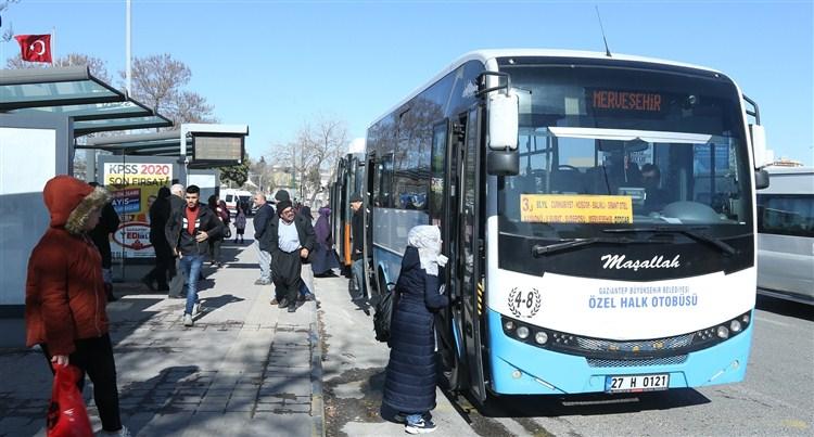 Mavi Özel Halk Otobüsleri yeni sisteme geçiyor