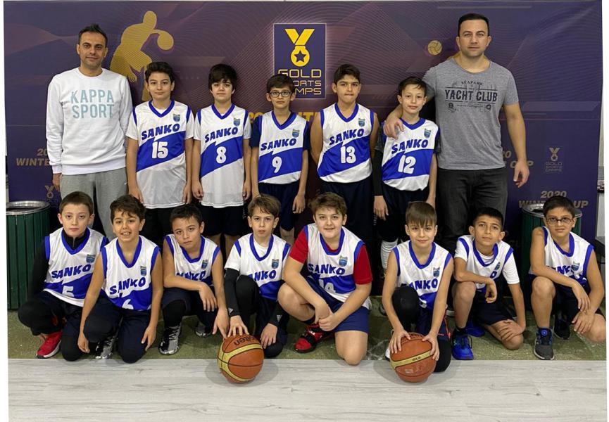 """SANKO Okulları Basketbol Takımı """"2020 WINTER CUP"""" Şampiyonu"""