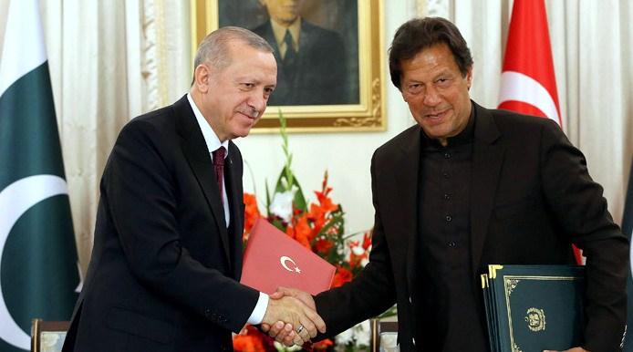 """Cumhurbaşkanı Erdoğan, """"Türkiye, her zaman Pakistan'ın yanında yer alacaktır"""""""