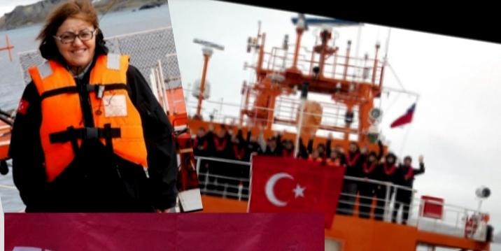 Başkan Şahin, Antarktika Ulusal Bilim Seferi izlenimlerini anlattı