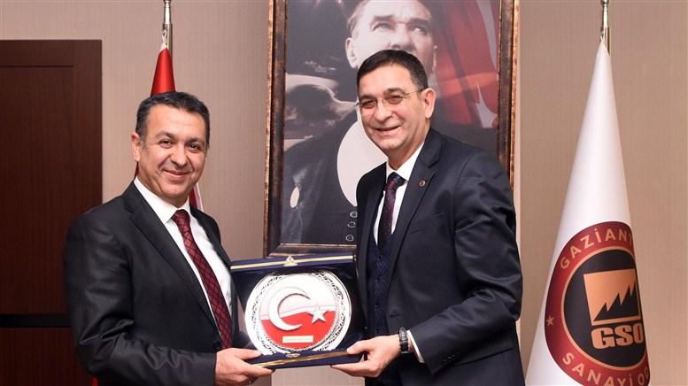"""GSO'da, """"Saha İstanbul İşbirliği Çalıştayı"""" yapıldı"""