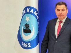 """Türkiye Kamu-Sen Gaziantep İl Başkanı Kemal Kazak, """"Geleceğe İnancımız Tamdır"""""""