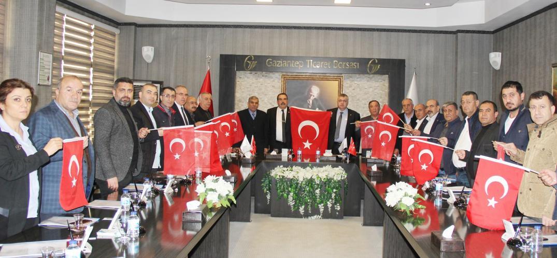 """GTB Meclisi, """"Devletimizin, Milletimizin ve Ordumuzun yanındayız"""""""