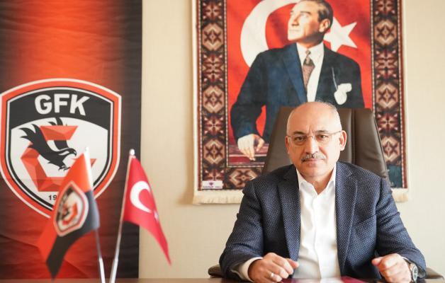 """Gaziantep FK Başkanı Büyükekşi, """"Hedefimize ulaştık"""""""