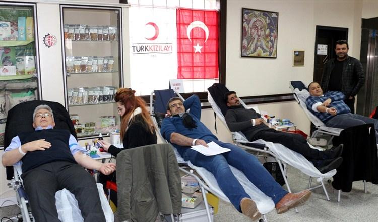 NTO'da Kan Bağışı Kampanyası yoğun ilgi
