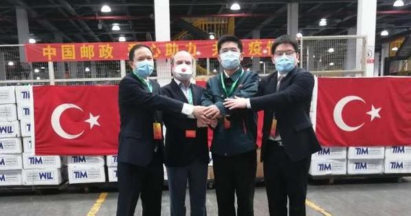 TİM'den Korona'nın vurduğu Çin'e tıbbi yardım