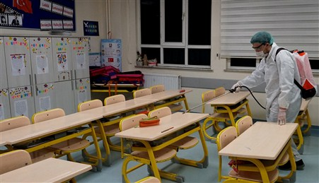 Gaziantep Kolej Vakfı Önlemleri Arttırdı