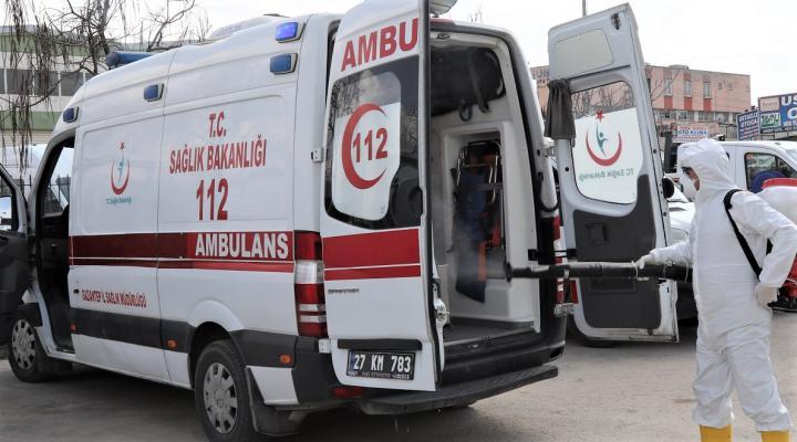 112 Acil Ambulanslarının hijyeni Büyükşehire emanet