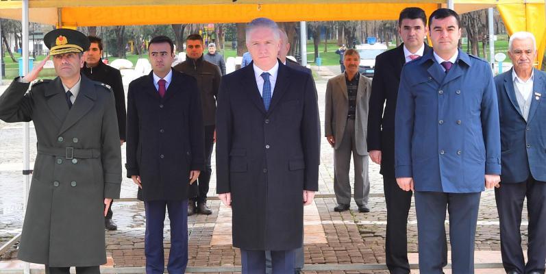 18 Mart Çanakkale Zaferi'nin 105. yıl dönümünde şehitler anıldı