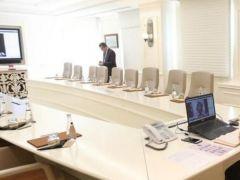 Türkiye Belediyeler Birliği Encümen toplantısı Telekonferansla yapıldı!