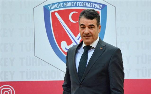 """Türkiye Hokey Federasyonu Başkanı Karakan: """"En büyük bayramımızı coşkuyla kutluyoruz"""""""