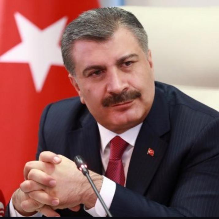 Sağlık Bakanı Koca, Türkiye'deki Korona Virüsü Vaka sayısını açıkladı
