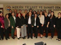 TOBB Kadın Girişimciler Kurulu Doğu Akdeniz Bölge toplantısı Mersin'de yapıldı