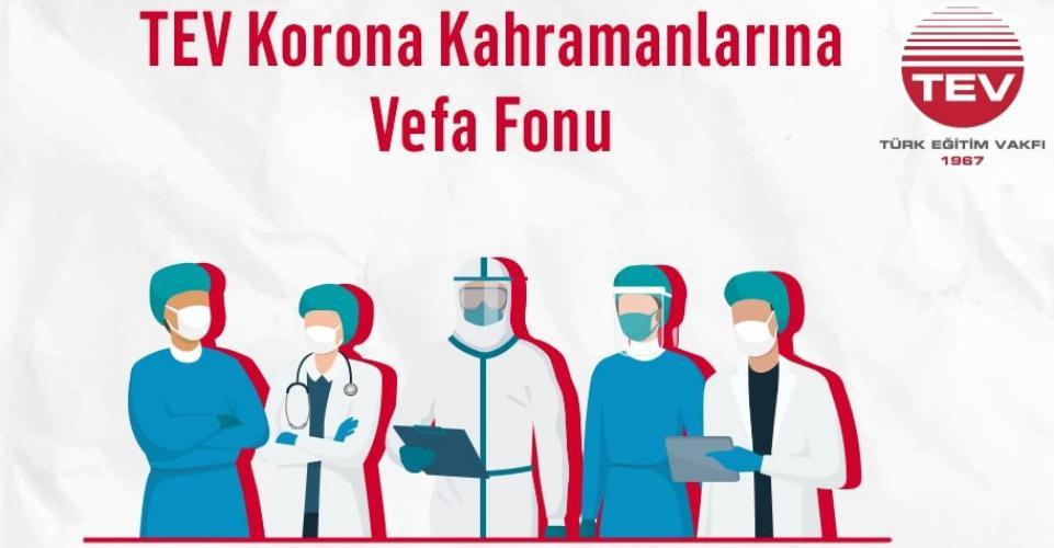 Türk Eğitim Vakfı Vefa Fonu Vefat Eden Sağlık Çalışanlarının Çocuklarına Umut Olacak!