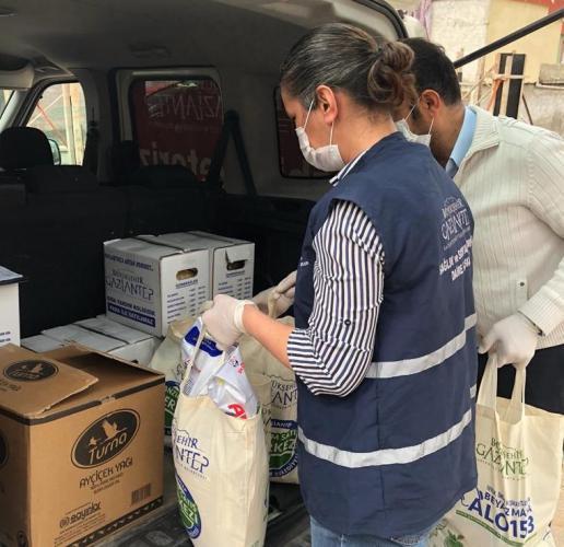 65 Bin gıda kolisi ihtiyaç sahiplerine dağıtılacak