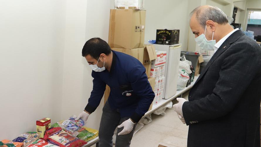 Oğuzeli Belediyesi Gıda yardımları sürüyor