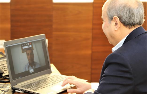 Taşdoğan ve Kılıç gündemi Telekonferans ile değerlendirdi