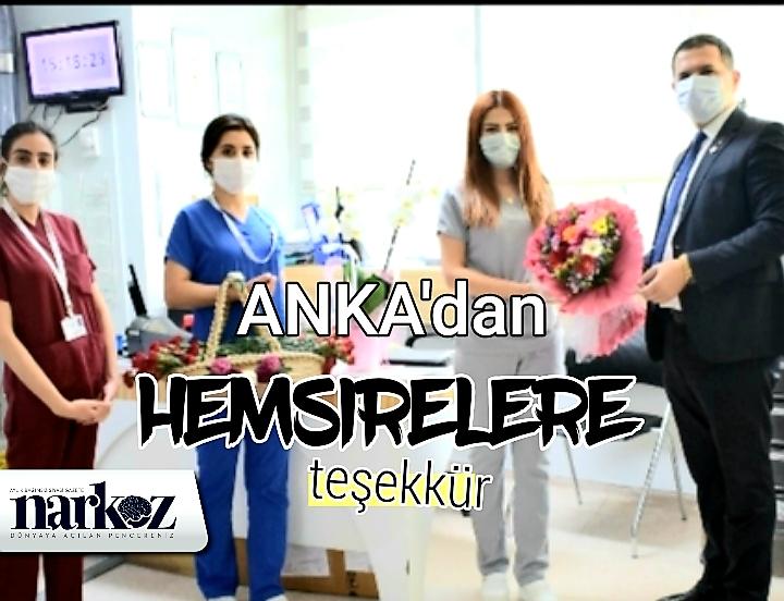 ANKA'dan hemşirelere teşekkür