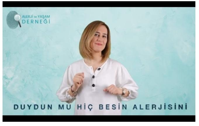 Alerji ile Yaşam Derneği, Besin Alerjisine dikkat çekmek için şarkı hazırladı