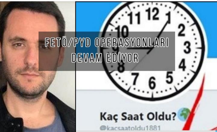 """""""Kaç Saat Oldu"""" hesabını yöneten FETÖ/PYD örgüt üyesi Yılmaz, hangi hesapları yönetiyordu"""