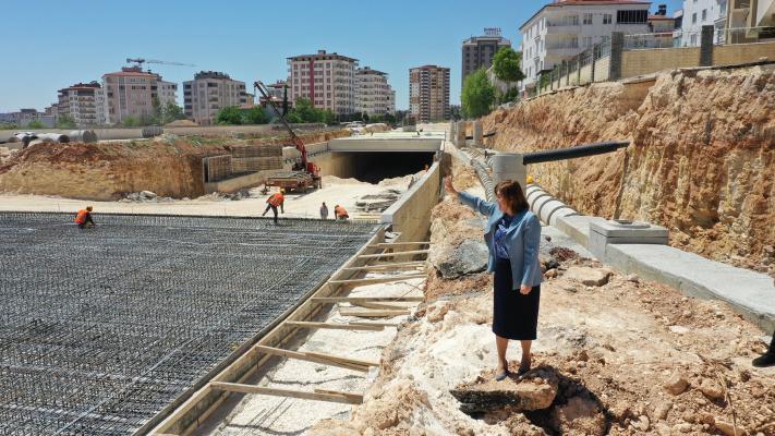 GAZİRAY ile İpekyolu'nun kesişim noktasında yapılan tünel tamamlandı