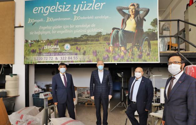 Milletvekili Koçer ve Başkan Fadıloğlu TSD'yi ziyaret etti
