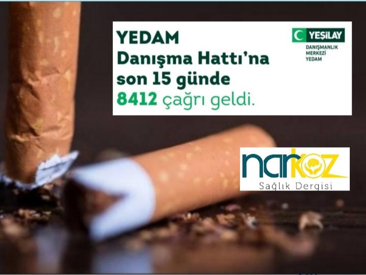 Sigarayı bırakmak isteyenlerden Yeşilay'a rekor başvuru