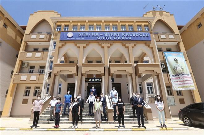 Büyükşehir, LGS Sınavında 56 bini aşkın öğrenciye hijyen paketi dağıtacak