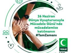 Yeşilay Genel Başkanı Prof. Dr. Öztürk'ten 26 Haziran Dünya Uyuşturucu ile Mücadele Günü mesajı
