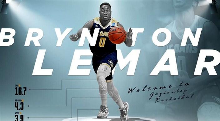 Gaziantep Basketbol'dan peş peşe transfer haberleri: Brynton Lemar Gaziantep'te