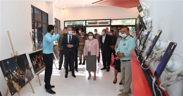 Gaziantep Protololü, 15 Temmuz Demokrasi Müzesi'ni ziyaret Etti