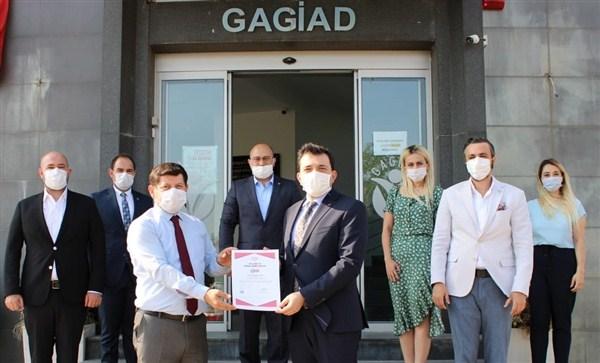 GAGİAD, TSE COVİD-19 Güvenli Hizmet Belgesini Alan İlk Dernek Oldu