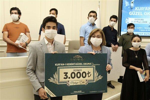 Kuran'ı Kerim ve İlahi Okuma Yarışması Ödül Töreni Düzenlendi