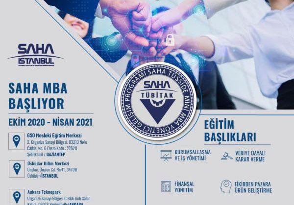 Geleceğin Patron ve Yöneticilerine Saha MBA Programı