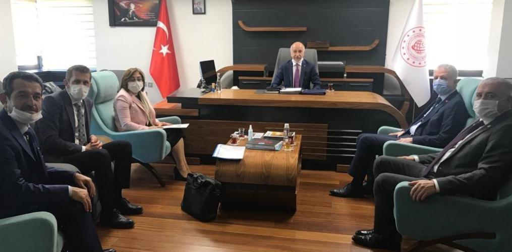 Başkan Şahin, Ankara'da Bir Dizi Ziyaretlerde Bulundu