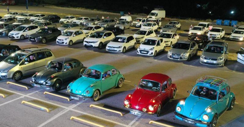 Arabalı Sinema Günleri'nin Yeni Adresi Alleben Göleti Oldu