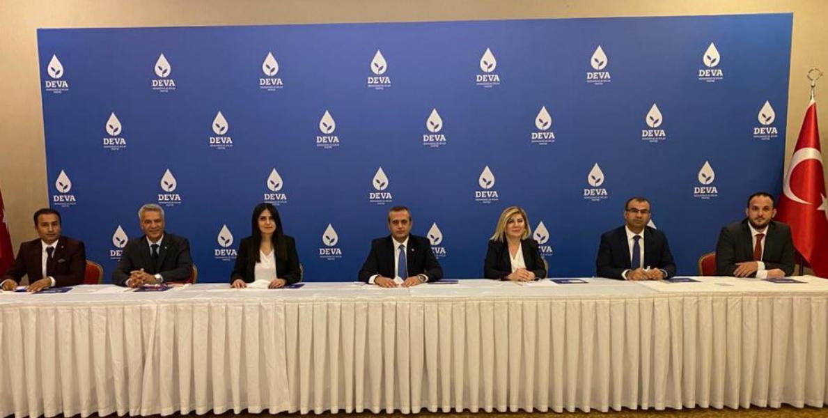 """Gaziantep DEVA Partisi İl Başkanı Kaya, """"Her derde DEVA olmaya geliyoruz"""""""